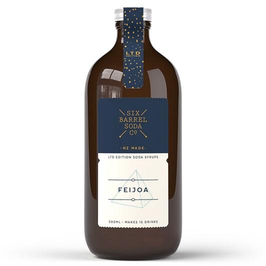 Six Barrel Soda Limited Edition Feijoa 500ml
