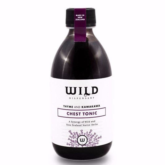 Wild Dispensary Thyme & Kawakawa Chest Tonic 200ml