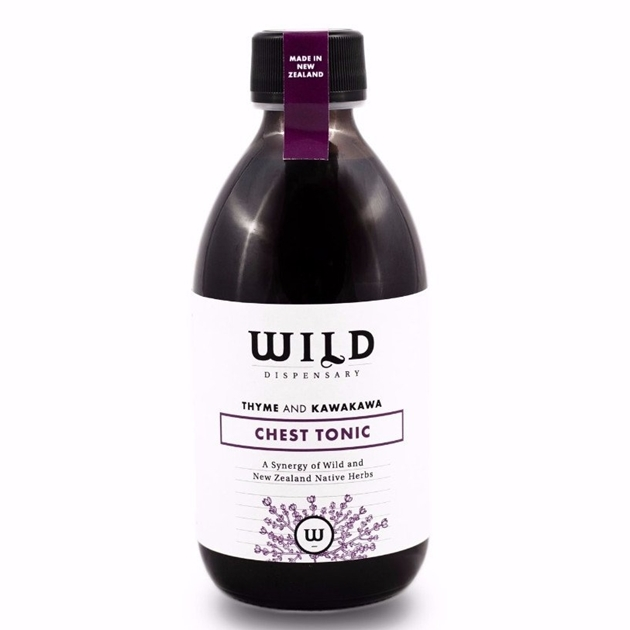Wild Dispensary Thyme & Kawakawa Chest Tonic 200ml -