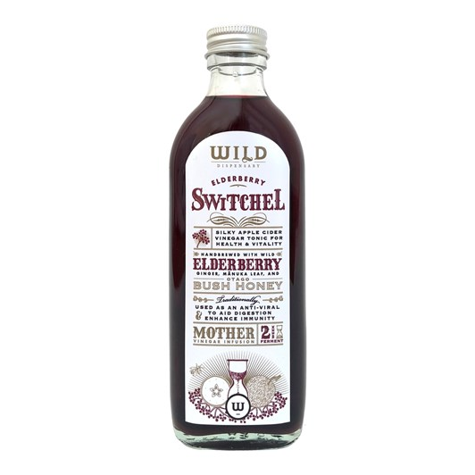 Wild Dispensary Elderberry And Manuka Switchel 200ml