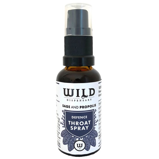 Wild Dispensary Sage & Propolis Defence Throat Spray 30ml