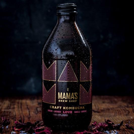 Mama's Brew Shop Craft Kombucha Love 375ml