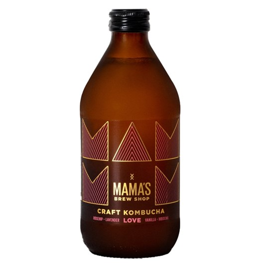 Mama's Brew Shop Craft Kombucha Love 375ml