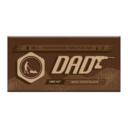 Bloomsberry 007 Dad Milk Chocolate Bar 100g