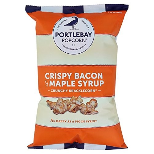 Portlebay Popcorn Bacon & Maple Syrup 75g