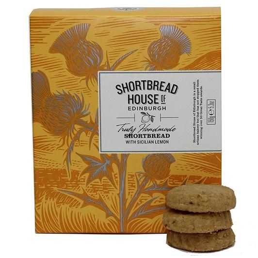 Shortbread House Sicilian Lemon Mini Shortbread Biscuits 150g