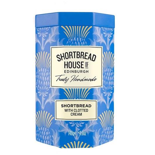 Shortbread House Clotted Cream Shortbread Octagonal Tin 140g