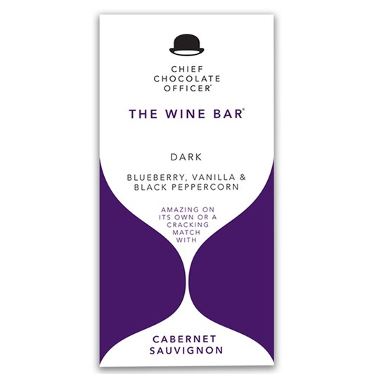 Chief Chocolate Officer Blueberry Vanilla & Black Peppercorn Dark 100g