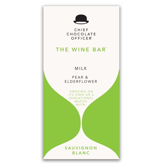 Chief Chocolate Officer Pear & Elderflower Milk 100g