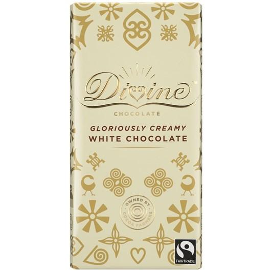Divine White Chocolate Bar 90g
