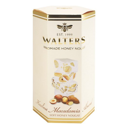 Walters Hazelnut Macadamia & Almond Nougat Gift Box 120g