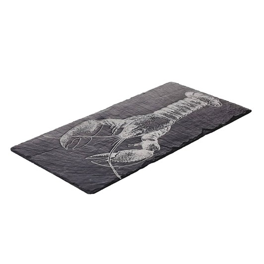 Just Slate Etched Lobster Table Runner