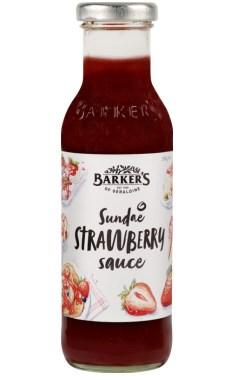 Barkers Strawberry Dessert Sauce 335g