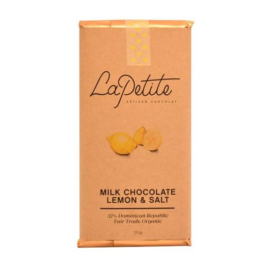 La Petite Artisan Chocolat All Stars Bar 37% Lemon & Salt 70g