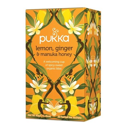 Pukka Lemon, Ginger & Manuka Honey Tea