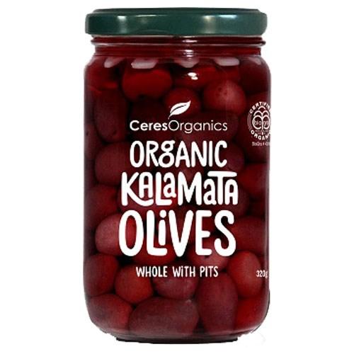 Kalamata Olives Whole With Pits 320g
