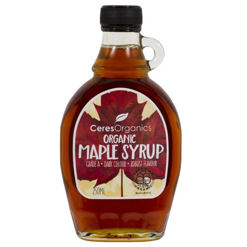 Maple Syrup Pure Robust Grade A 250ml