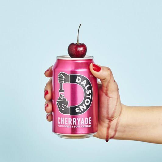 Dalston's Real Cherryade 330ml Can