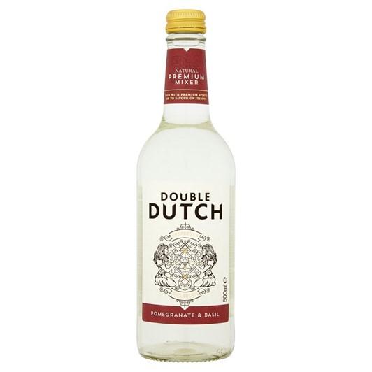 Double Dutch Pomegranate and Basil 500ml