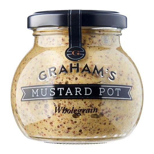 Graham's Wholegrain Mustard 215g