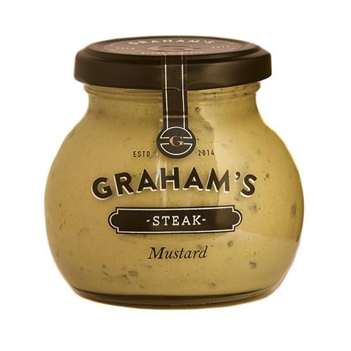 Graham's Steak Mustard 215g