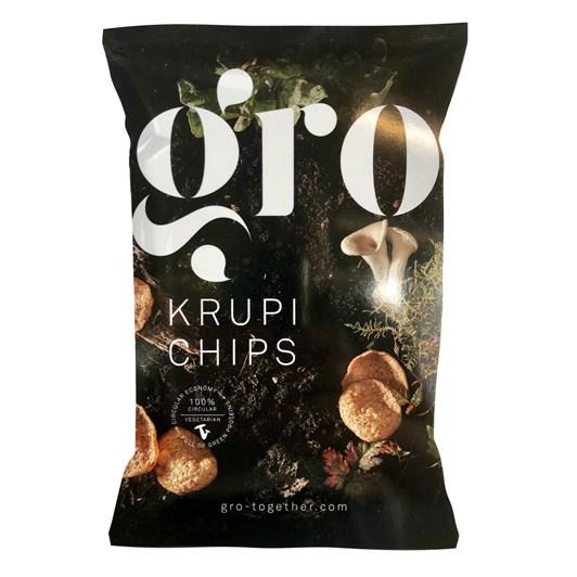 GRO Mushrooms Krupi Chips 60g Bag