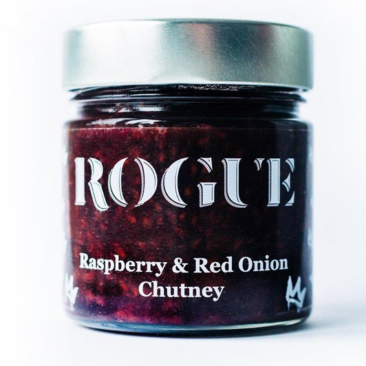 Rogue Raspberry & Red Onion Chutney 300g Jar