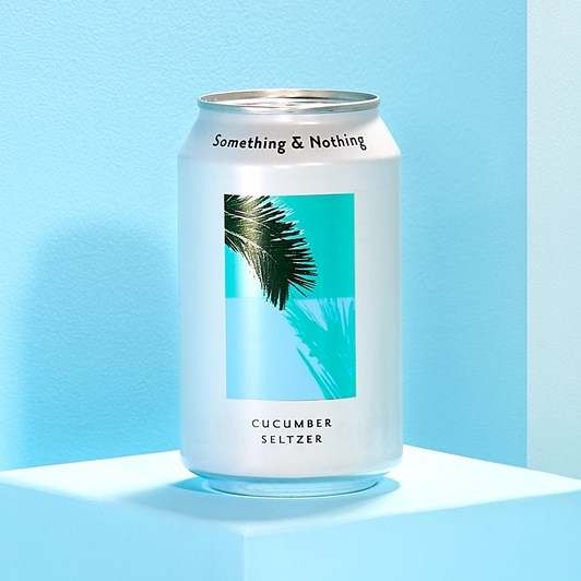 Something & Nothing Cucumber Seltzer 330ml Can