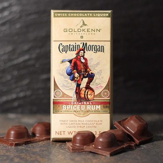 Goldkenn Captain Morgan Rum Block 100g