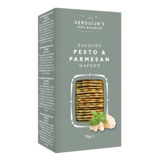 Verduijn's Pesto & Parmesan Wafers 75g