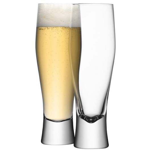 LSA Bar Lager Glass 400Ml Set Of 4