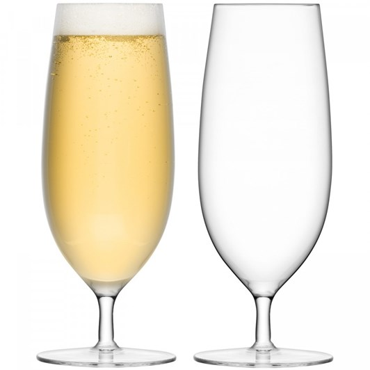 LSA Bar Pilsner Glass 450Ml Set Of 2