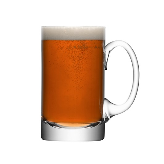 LSA Bar Beer Tankard Straight 750Ml Clear