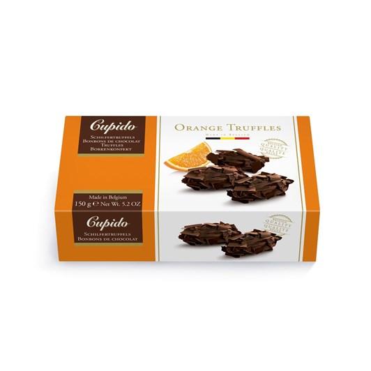 Cupido Chocolate Flake Truffles Orange 150g