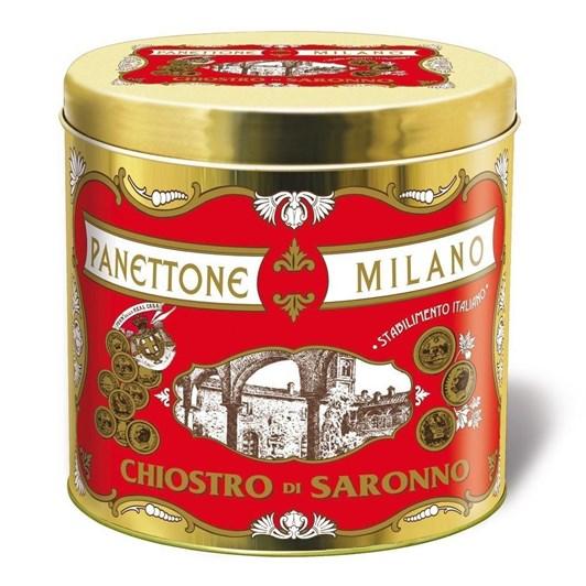 """Lazzaroni Panettoni Classic """"Cornice"""" Tin 1kg"""