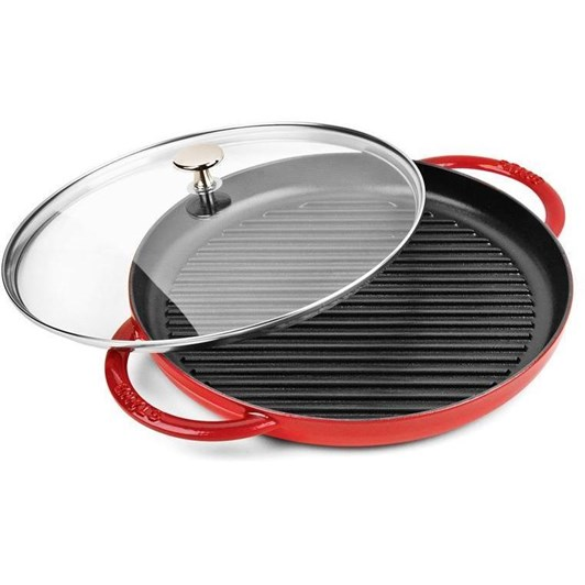 Staub Steam Grill With Glass Lid 30cm