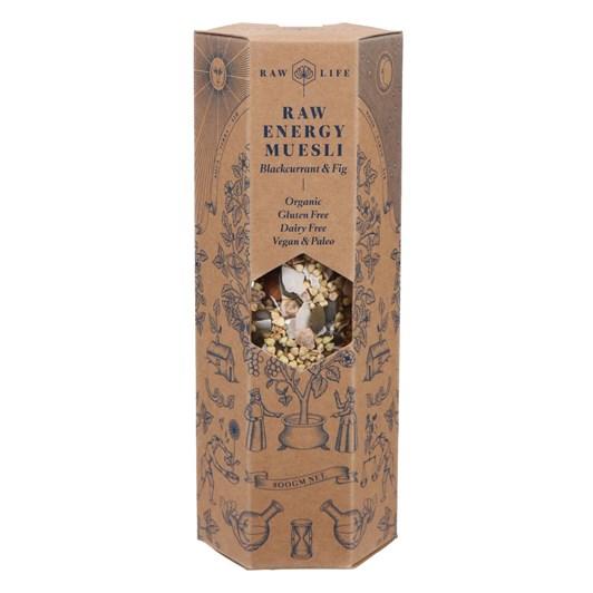 Raw Life Raw Energy Muesli Blackcurrant & Fig 500g