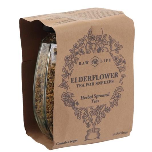 Raw Life Elderflower Tea For Sneezes