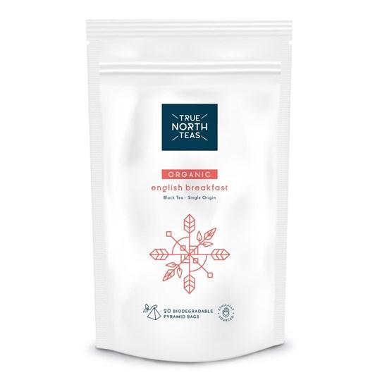 True North Teas Organic English Breakfast Bags x20