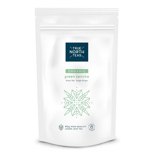 True North Teas Organic Green Sencha Looose Leaf 80g
