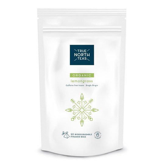 True North Teas Organic Lemongrass Teabags x20