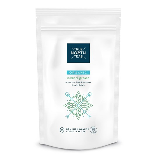True North Teas Organic Green Tea Lime & Coconut Loose Tea