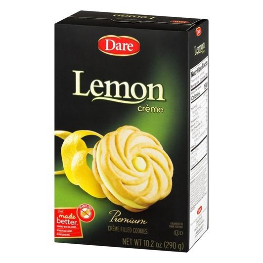 Dare Foods Lemon Crème Ultimate Biscuits 290g