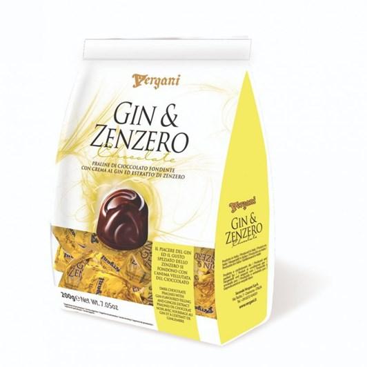 Vergani Dark Chocolate Gin & Ginger Creams 200g