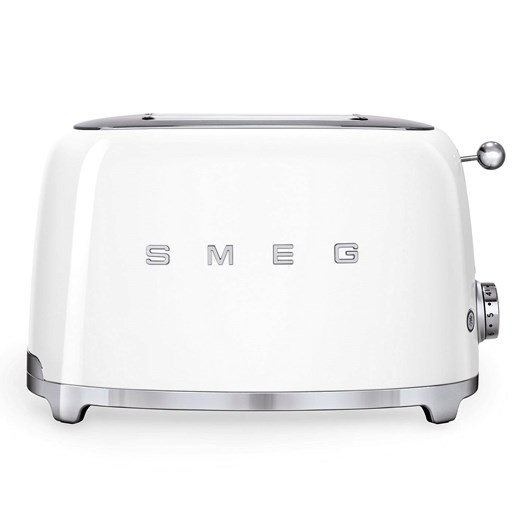 Smeg 2 Slice Toaster White