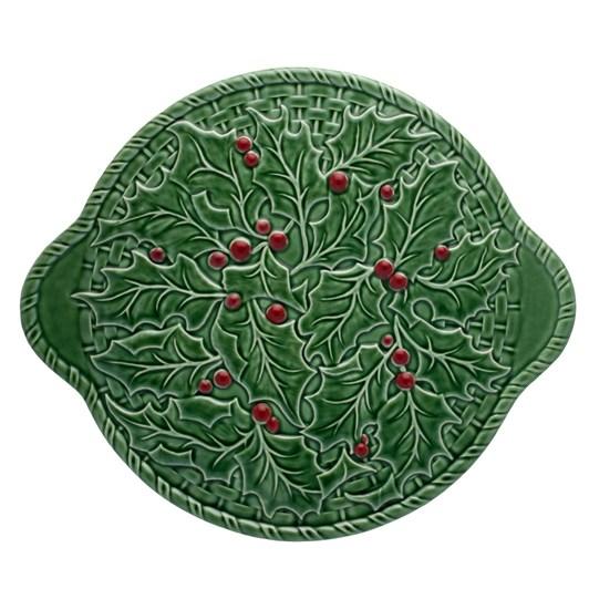 Bordallo Holly Tart Plate