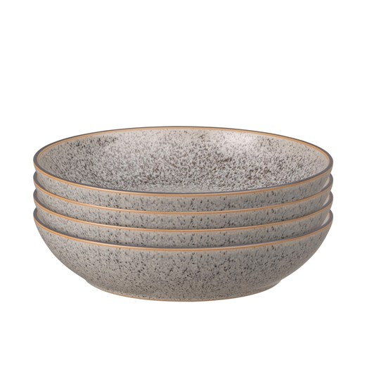 Denby Studio Grey Pasta Bowl Set Of 4 Grey