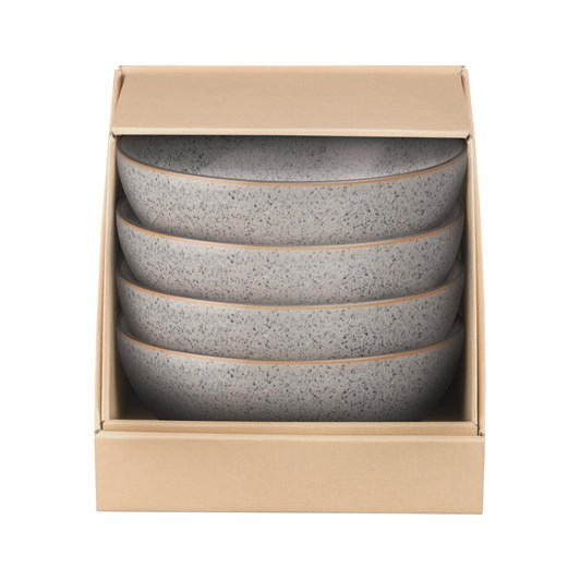 Denby Studio Grey Cereal Bowl Set Of 4 Grey