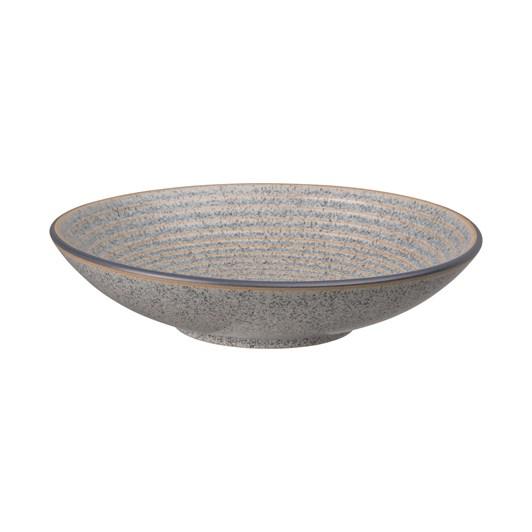 Denby Studio Grey Medium Ridged Bowl Grey