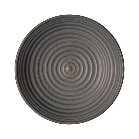 Denby Studio Grey Small Ridged Bowl Charcoal